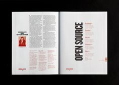 Lotta Nieminen — SI Special #hierarchy #layout #red #typography