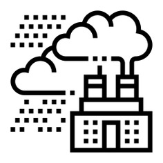 See more icon inspiration related to smoke, co2, carbon, dioxide, ecology and environment, carbon dioxide, pollution, contamination, industry, factory and education on Flaticon.