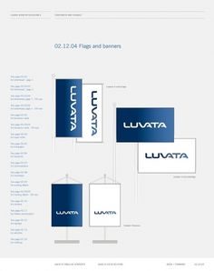 Corporate & Brand Identity - Luvata, Finland on the Behance Network #branding #guide #guidelines #corporate #style