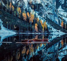 Magnificent Landscape Reflections by Davide Anzimanni