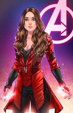 The Scarlet Witch by JamieFayX