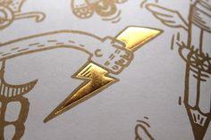 Illustrated Roma Alphabet Book on the Behance Network #thunder #golden