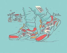 JOINING THE DOTS OF SNEAKER CULTURE on Behance