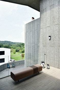 Brutalist-Style House in Northern Taiwan, Yuan Architects 13