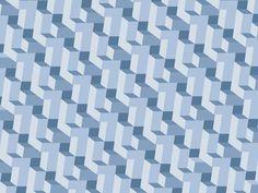 pattern, lammhults, blue, caroline bergsten, flat