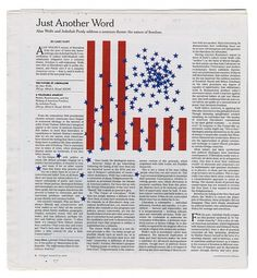 Just Another Word #layouts #print #design #graphic #grids #newspapers #editorial