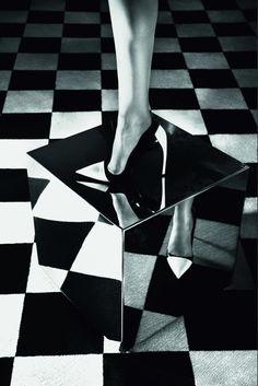 Nadja Bender by Camilla Akrans for Dior Magazine