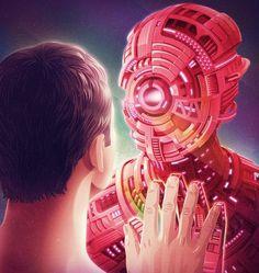 SerialThriller™ #serial #thriller #space #robot