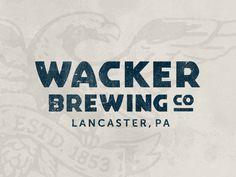 Wacker Brewing Co Logo Alternative
