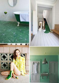 green decor ideas #interior design #decoration #decor #deco