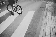 fixed gear rider #blackwhite #analog #bicycle #fixed #photo #retro #gear #fixedgear #track #bike #trackbike #velo #bw