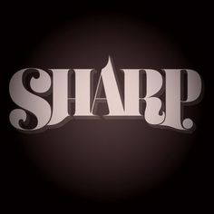 Friends of Type #lettering #shading #display #drawn #hand #typography
