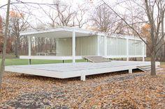 Farnsworth House, Mies van der Rohe (1945-51)
