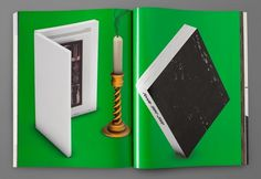 "manystuff.org — Graphic Design daily selection » Blog Archive » Most Beautiful Swiss Books ""The Future Issue"" 2009 – 3-D Rendering"