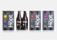 Best Awards - Shine & Inhouse. / Hӧpt #packaging #beverage #bottle