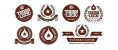 Tough Luck Beer Labels - TheDieline.com - Package Design Blog #logos