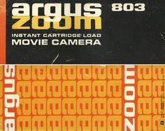 FFFFOUND! | ISO50 - The Blog of Scott Hansen » Super 8 Packaging #super #8 #argus #iso50 #hansen #scott #zoom