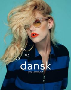 MatterPrinted › Curated covers of Printed Matter • DANSK Magazine S/S 2011 #fashion #dansk #magazine