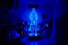 Light Sculptures9 #hologram #light #skulpture