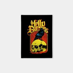 The Sound of Silence - The Sound Of Silence - Sticker | TeePublic #teepublic #musicart #music #soundofsilence #hello #darkness #hellodarkness #musically #lyrics #albumart #albumcover #redbubble #keyart #thecommas #printondemand #printables #prints #product #designproduct