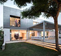 Aluminum Cladding House by Studio da Lange - #architecture, #house, #home, #decor, #interior, #homedecor,