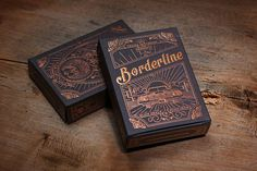 borderline via www.mr-cup.com #packaging #print #special #cards #foil
