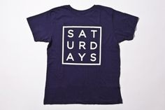 Saturdays Surf NYC | Online Store | Square Type T-Shirt #surf #nyc #tee