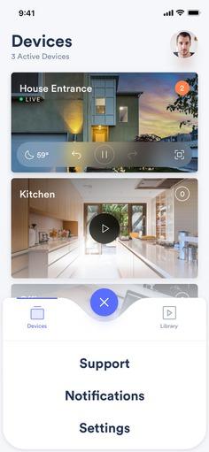 Smart Security Camera App