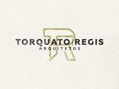 Torquatto Regis Architecture – Monogram #design #monogram #identity #logo #typography
