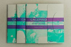 » Calepino x La Casse #package #paper #folds