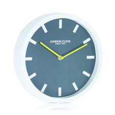 London Clock Company 'POP' Wall Clock White, 25cm x 4cm