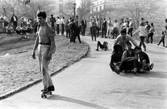 billeppridgeskateboardinginnyc_08.jpeg #b&w #oldschool #skateboard #1960s #york #nyc #new