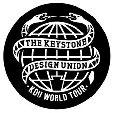 The KDU: The Keystone Design Union World Tour on Behance #keystone #union #emblem #kdu #logo