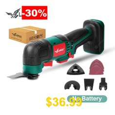 LANNERET #Oscillating #Tool #20V #Li-ion #Kit #Multi-Tool #Variable #Speed #Cordless #Electric #Trimmer #Saw