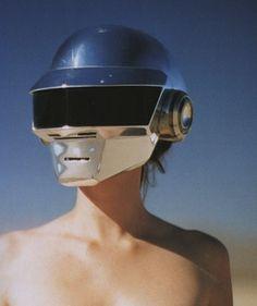 Daft Punk Helmet #design #music #fashion
