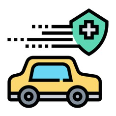 See more icon inspiration related to car, car insurance, insurance, transportation, automobile, security, shield, vehicle, cross and transport on Flaticon.