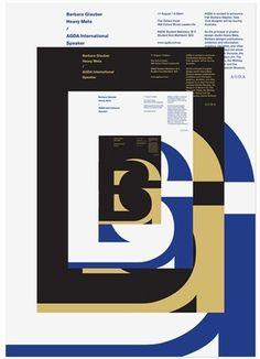 AGDA event posters, Uriah Gray's Portfolio #glauber #uriah #poster #gray #barbara