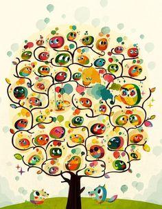 Illustration Portfolio of Sami Viljanto #inspiration #colourful #illustration #design