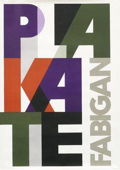 Hans Fabigan — Plakate Fabigan (1955) #type