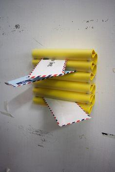 WEICHE WU: Letter Clip #clip #letter #promdesign