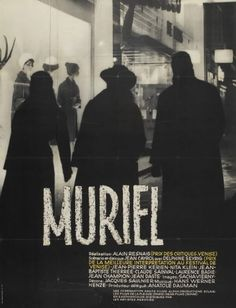 Muriel_MPOTW.jpg 500×652 pixels #movie #resnais #1960 #film