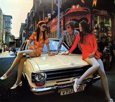 The Groovy Opel Car Calendar Of 1970