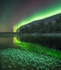 Adrien Louis Mauduit Captures The Northern Lights in Norway