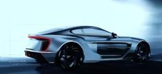 Aston concept 7 3/4 rear