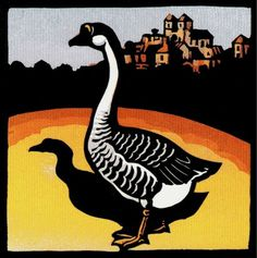 'twenty, twenty-ten, 2010' #gras #france #goose #foie #woodblock #godard
