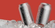 Designer Creates Eco-Friendly Minimalistic Coca Cola Can - DesignTAXI.com #packaging #recycling #minimal