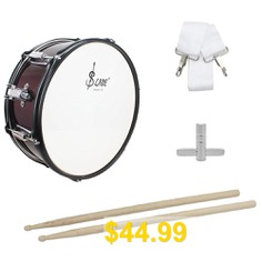 SLADE #14 #inch #Small #Snare #Drum #with #Stick #Strap #Wrench #Rust-resistant #Anti-fade #Aluminum #Alloy #Drum