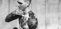 Stefan Slizkiewicz by Roo Lewis for the Quarterly #quarterly #lewis #the #tattoo #photography #portrait #roo #tattoos