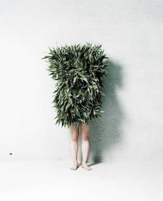 Leaf Man by Azuma Makoto #inspiration #photography #art