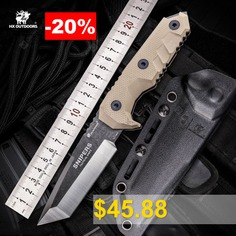 HX #OUTDOORS #D-183 #7Rv17Mov #Blade #Fixed #Knife #Outdoor #Survival #Tactical #with #snipers #Multi #Tool #Knife